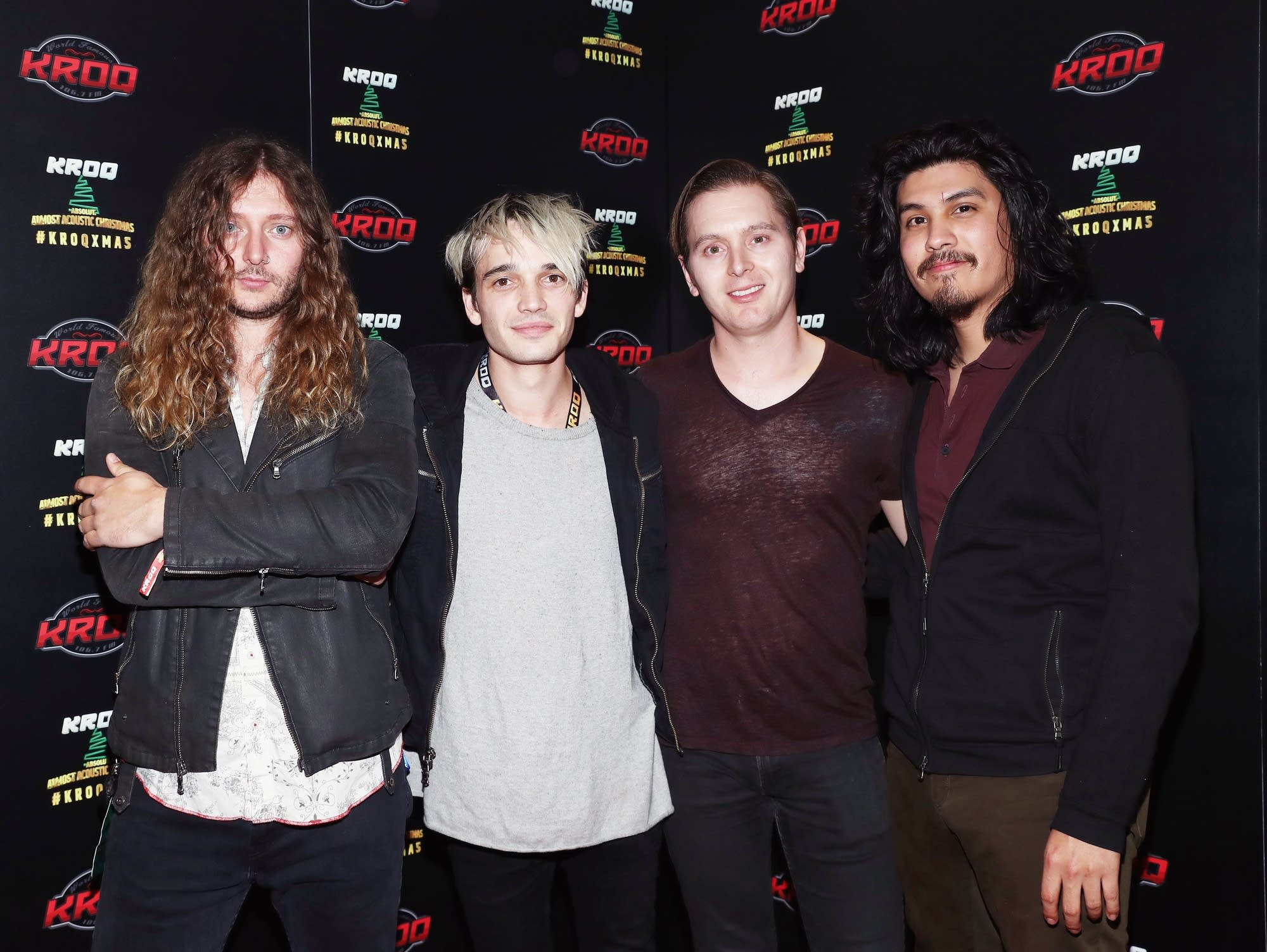 Badflower attend KROQ Absolut Almost Acoustic Christmas