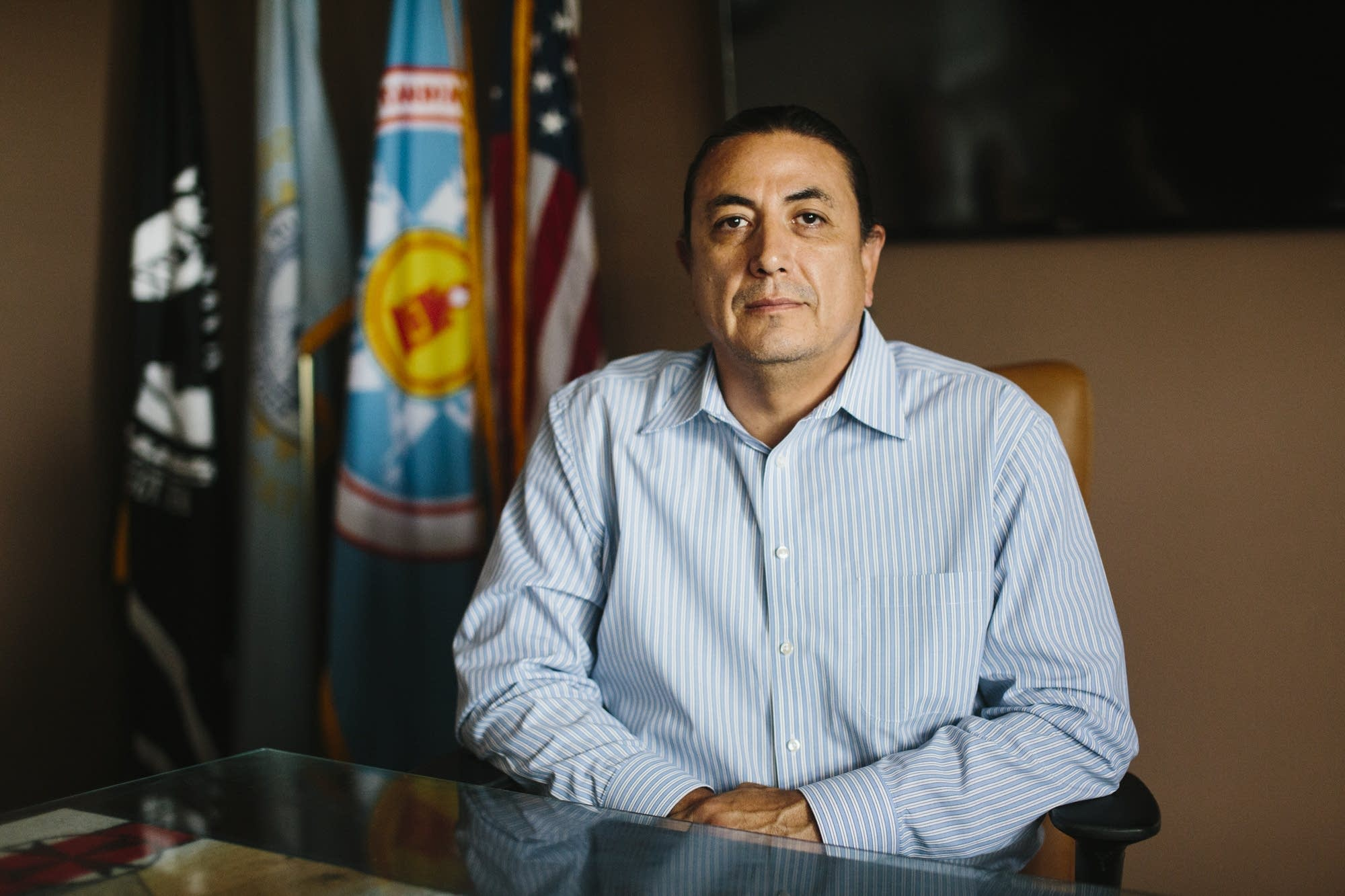 Standing Rock Sioux Tribal Chairman David Archambault.