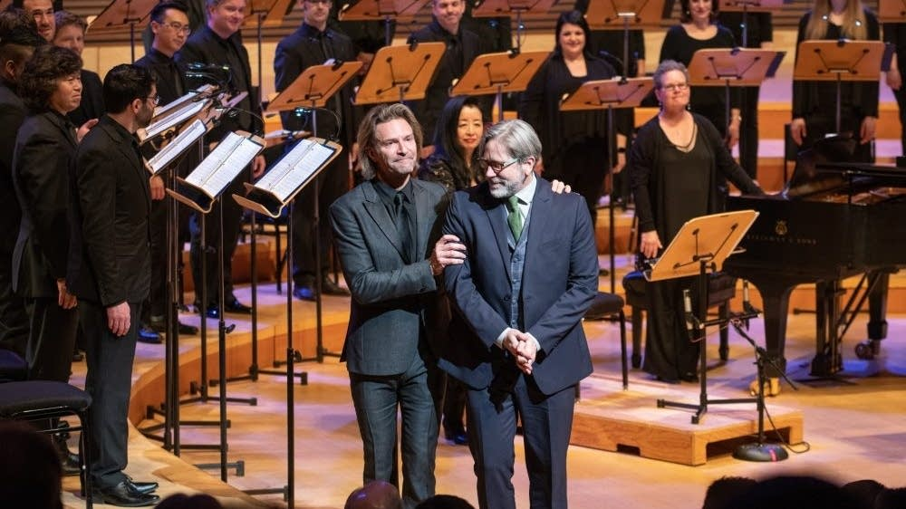 Eric Whitacre and Charles Anthony Silvestri