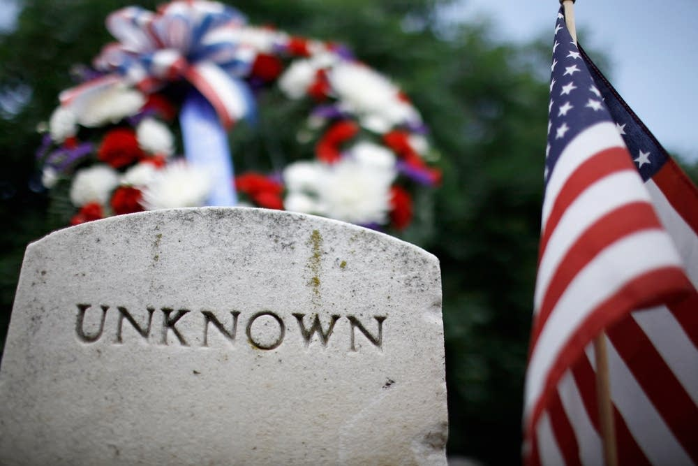 Union soldier grave