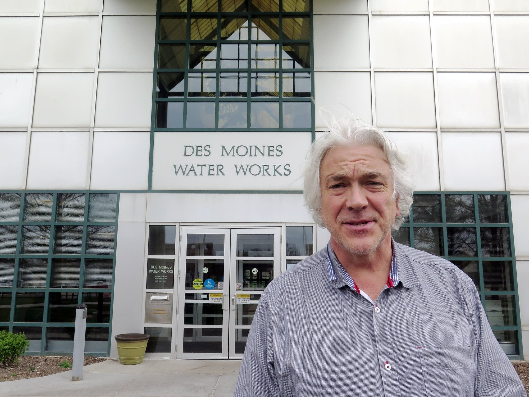 Bill Stowe, general manager of Des Moines Water Works.
