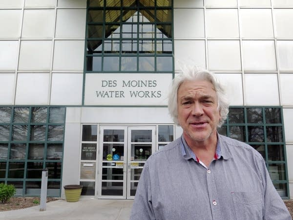 Bill Stowe is the general manager of Des Moines Water Works.