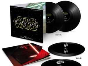 Star Wars: The Force Awakens hologram vinyl