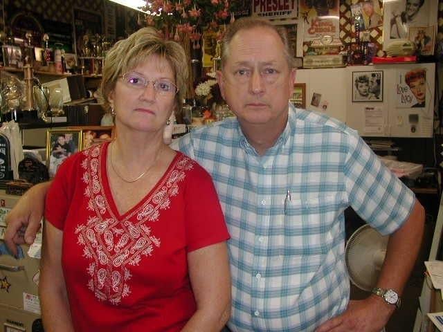 Kathy and Mick Kieffer