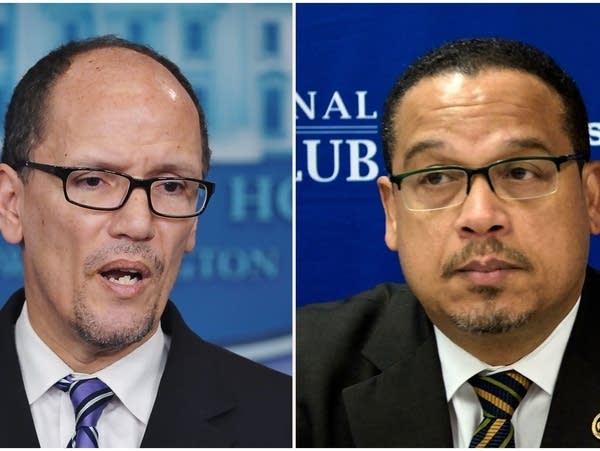 Thomas Perez and Keith Ellison