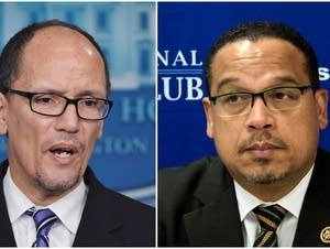 Thomas Perez and Keith Ellison