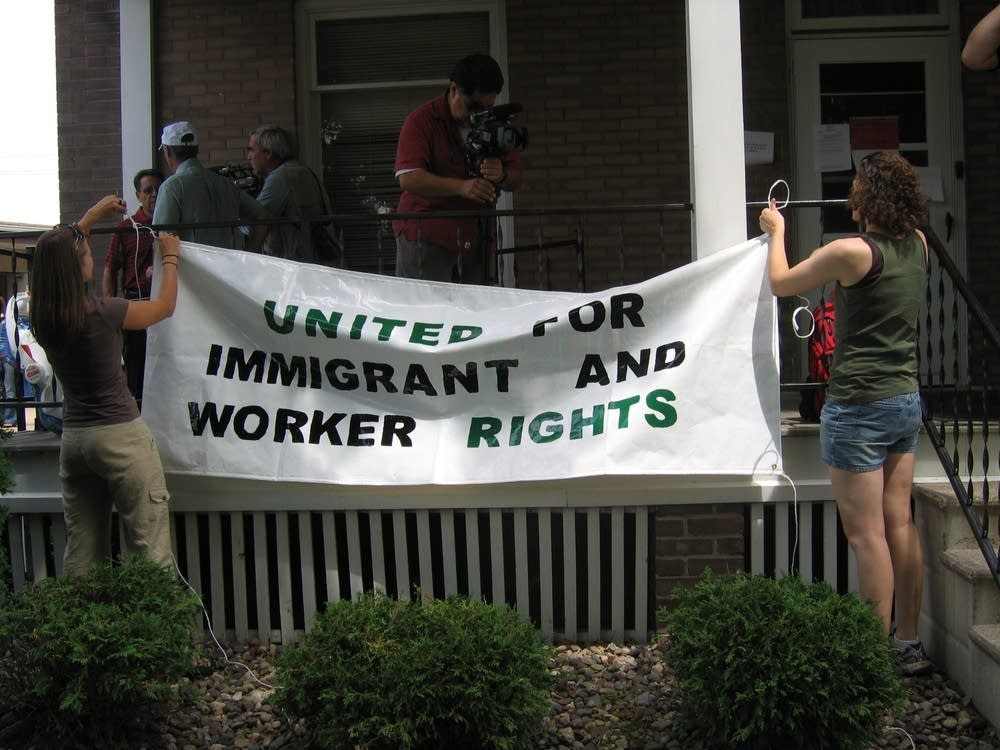 Immigration banner