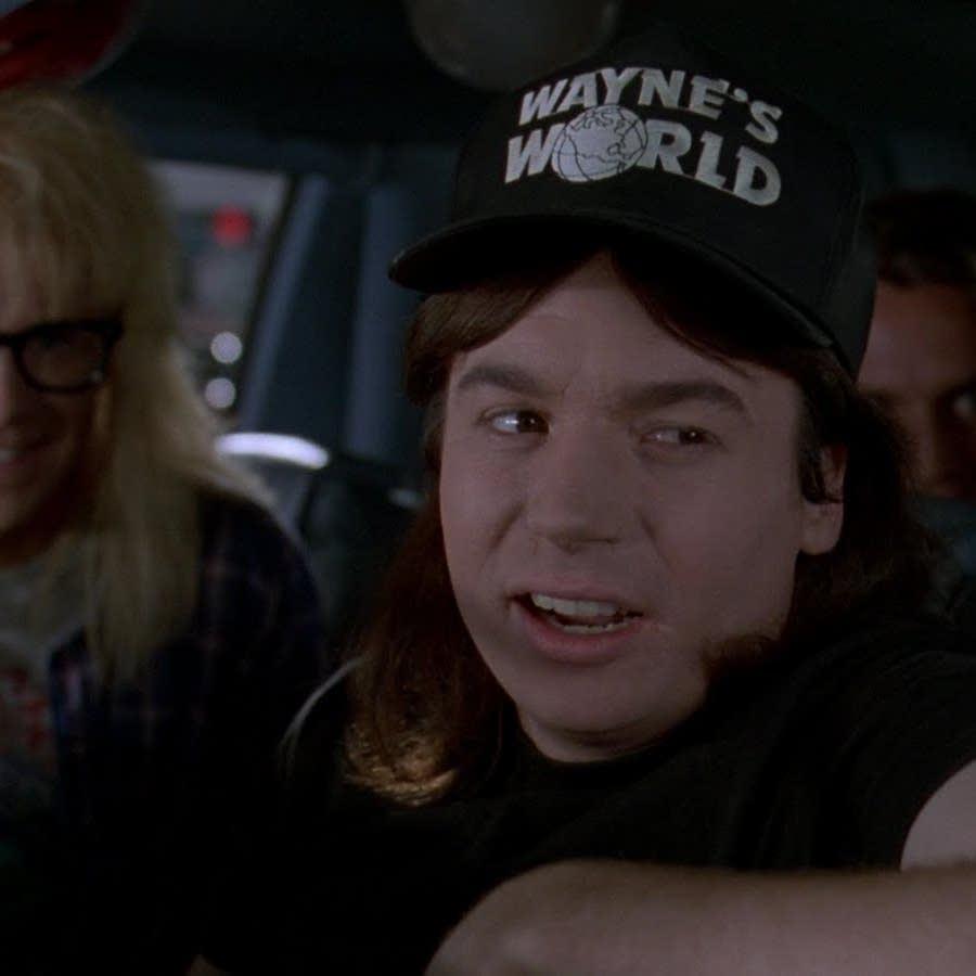 Wayne's World car scene