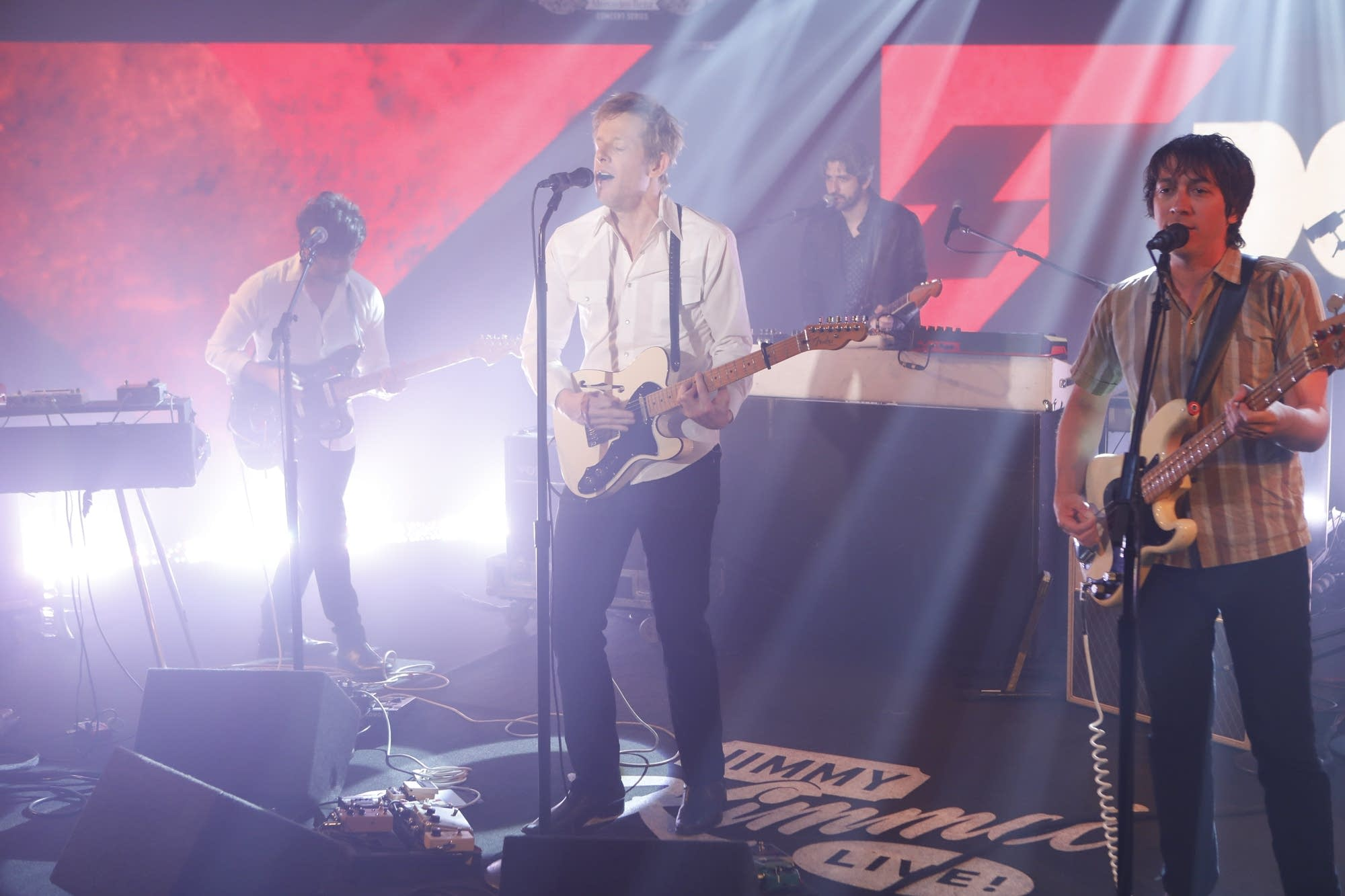Spoon perform on 'Jimmy Kimmel Live!'