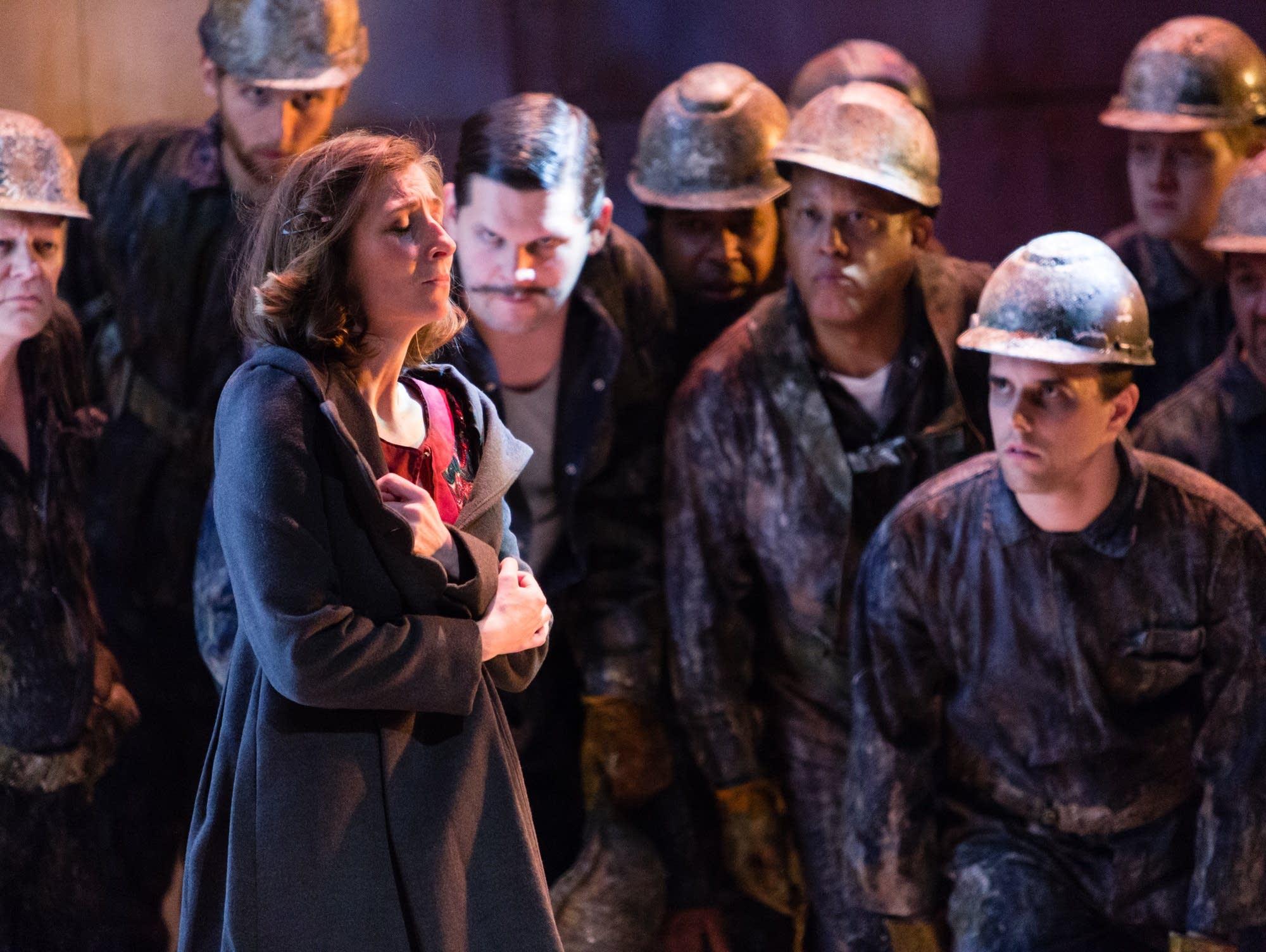 Keira Duffy in 'Breaking the Waves'