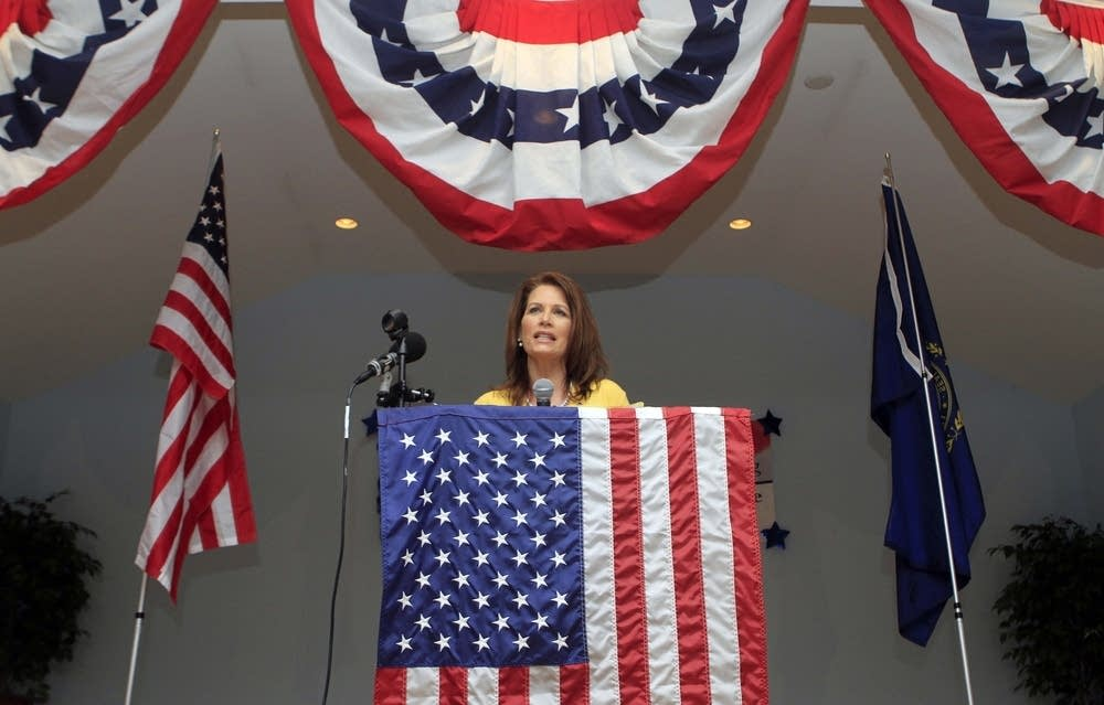 Michele Bachmann speaks in New Hampshire