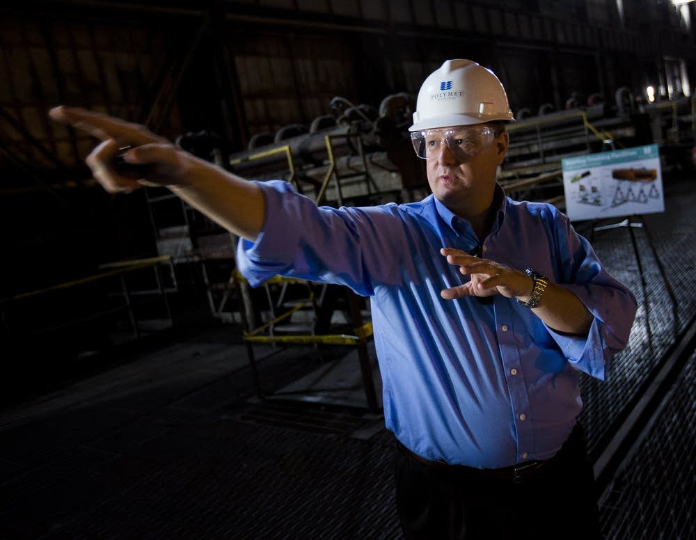 PolyMet CEO Jon Cherry
