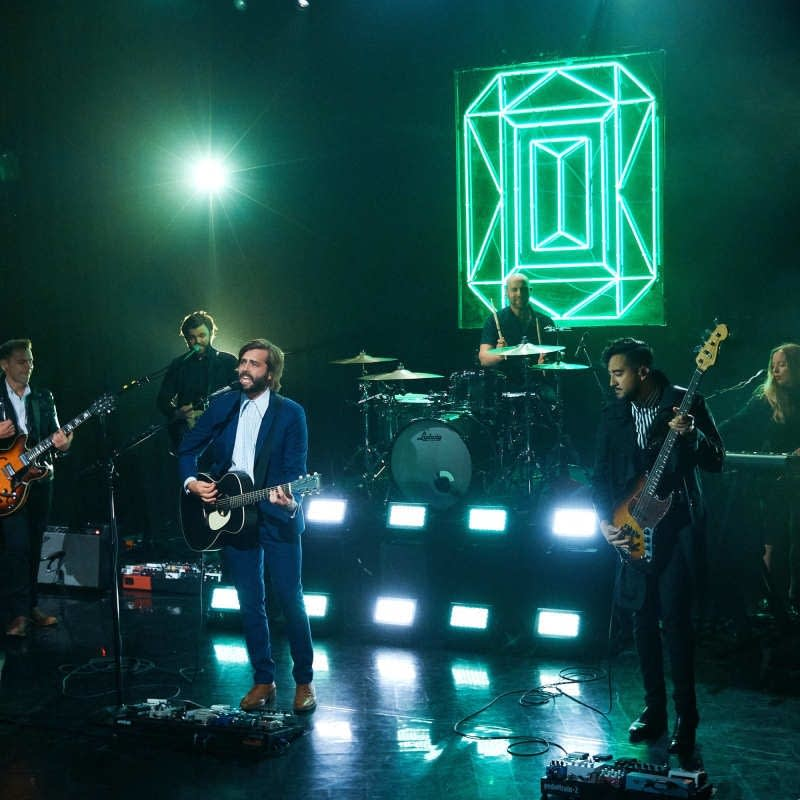 Lord Huron perform on 'The Late Late Show with James Corden'