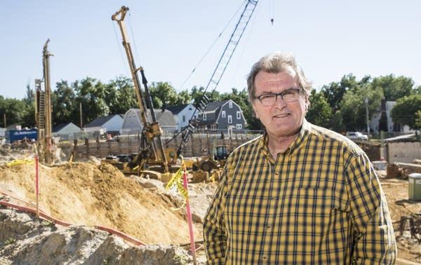 Dennis Davey, a long-time southwest Rochester neighborhood resident.