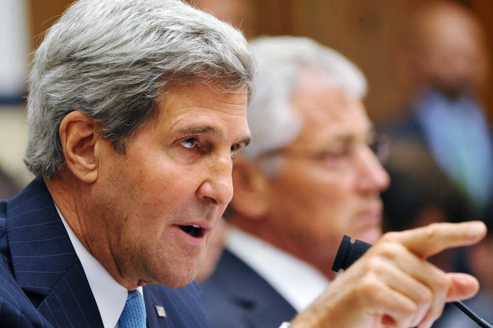Kerry testifies