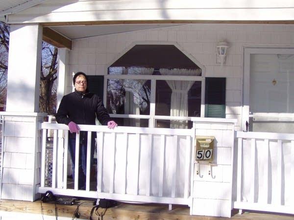 Bev Adrian's porch