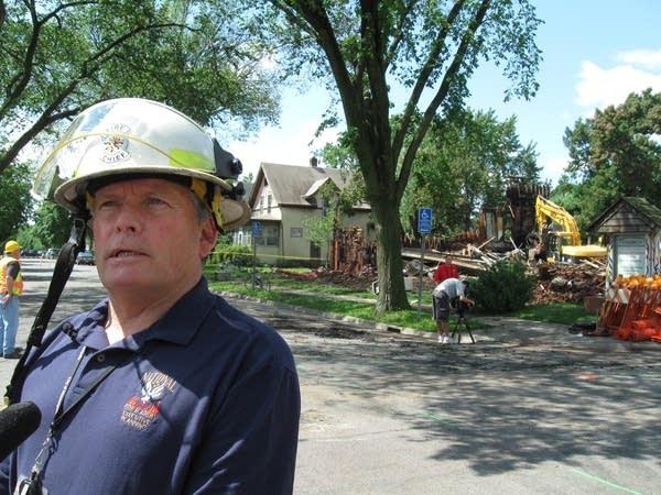 Minneapolis Fire Chief John Fruetel