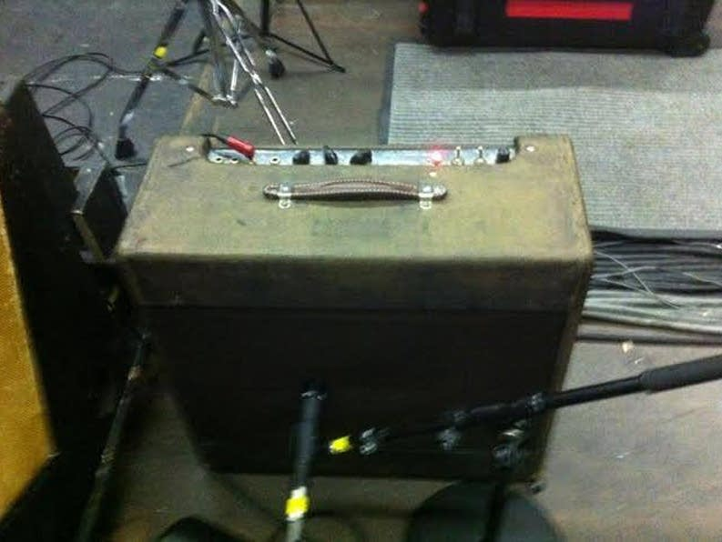 A '54 Tweed Fender Pro amp