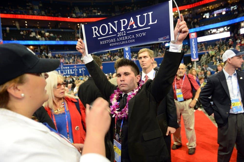 Ron Paul delegate