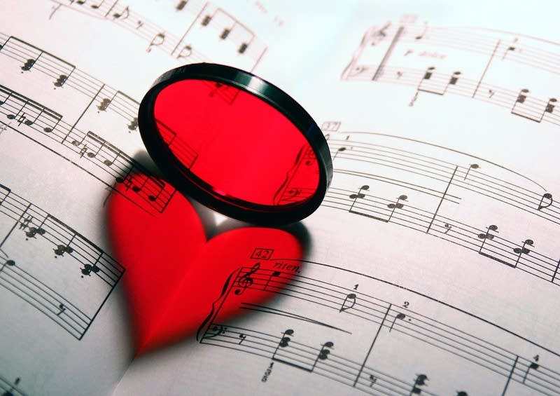 heart sheet music love