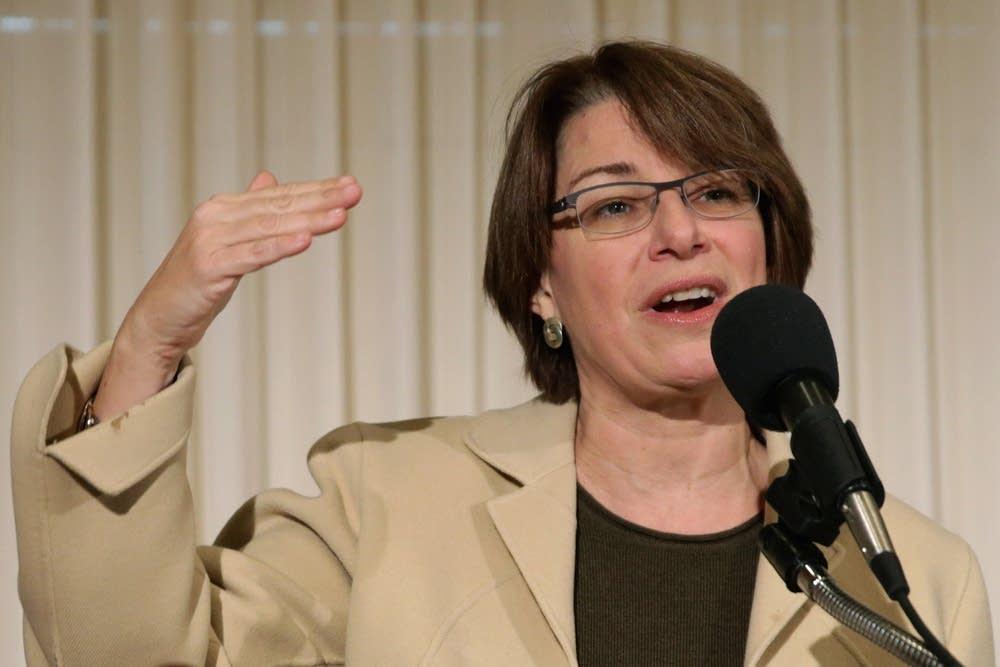 Sen. Amy Klobuchar 2015