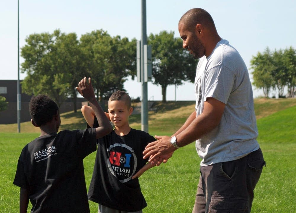 Meeting Tony Sanneh