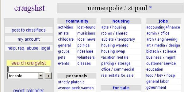 Some Craigslist users in Minneapolis targeted by thieves