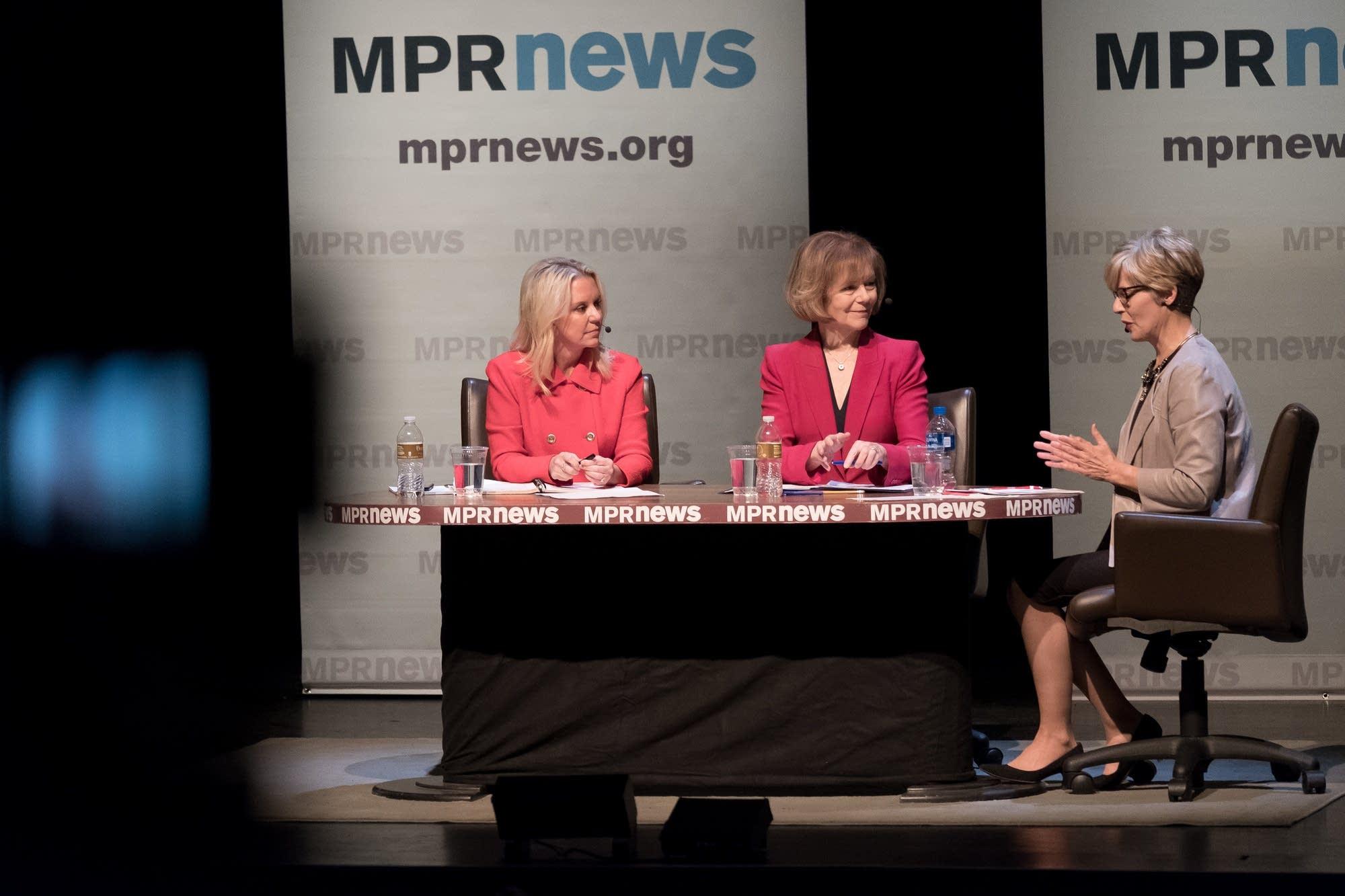 Tina Smith and Karin Housley hold final 2018 Minnesota U.S. Senate debate