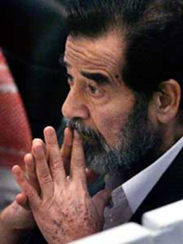 2005: Saddam Hussein on trial
