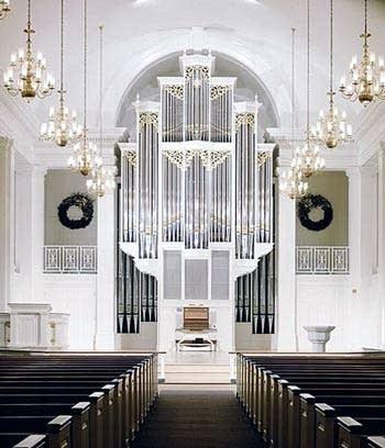 1999 Martin Ott organ at Trinity Lutheran Church, Lansdale, PA