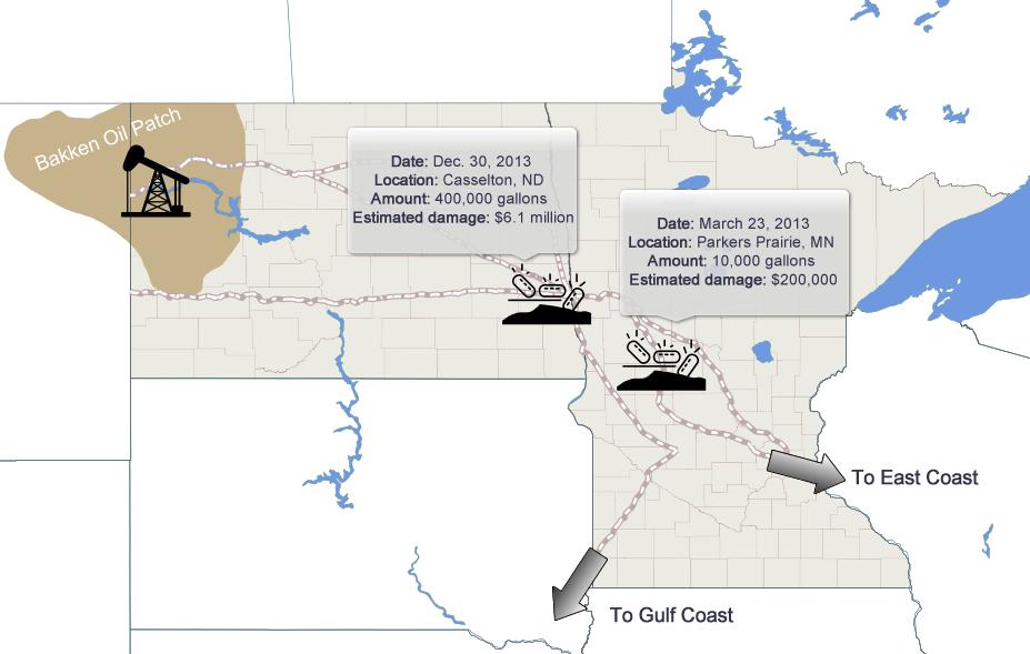 Derailment map