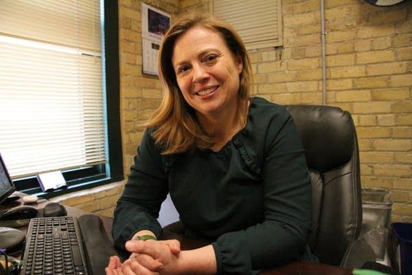 Kara Lynum volunteered to represent asylum seekers in Mexico in Dec. 2018.