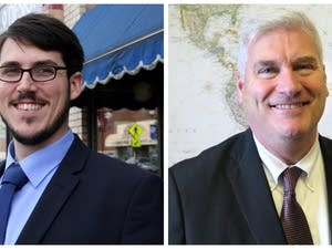 6th Congressional District candidates Ian Todd (left) and Tom Emmer.
