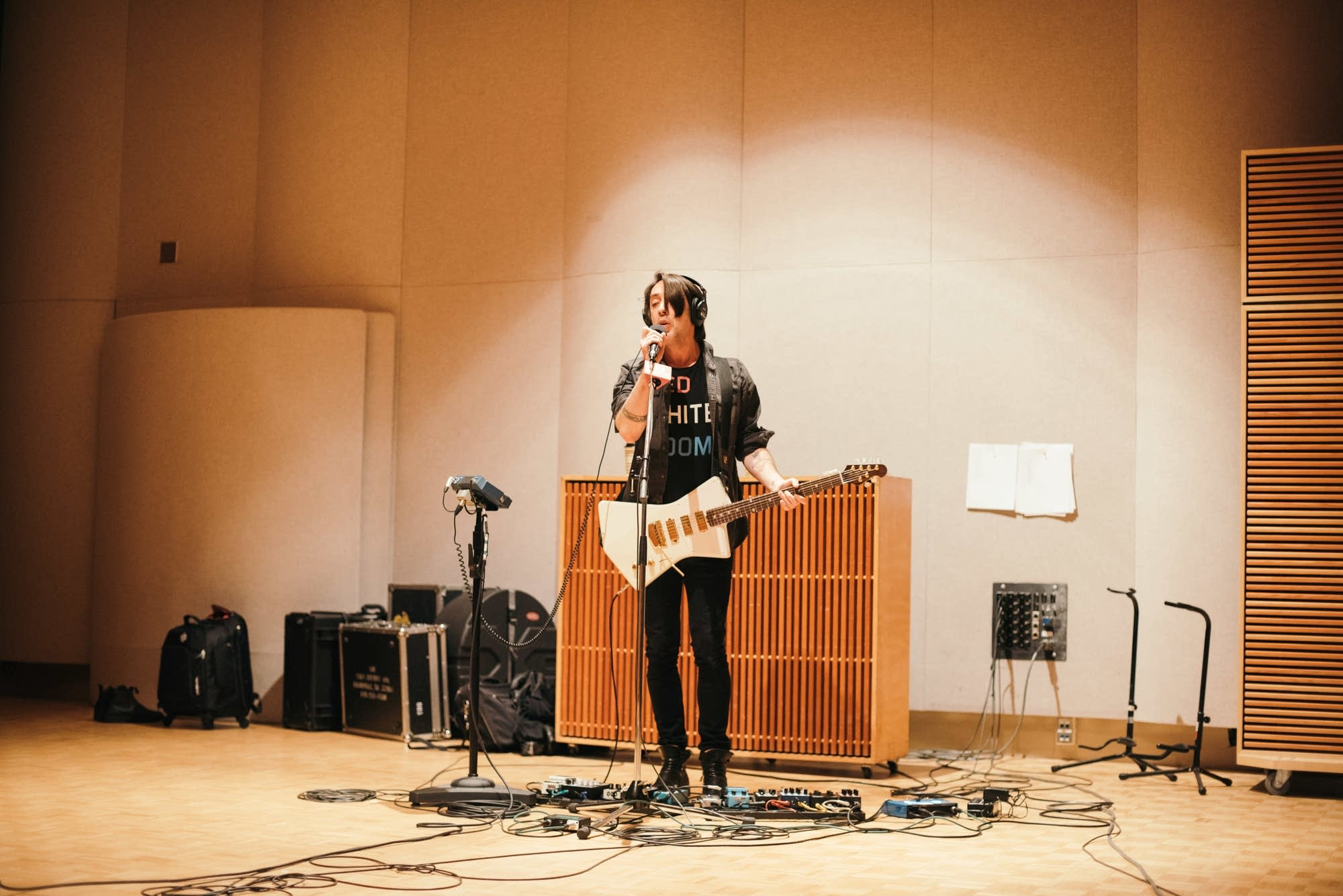 Wolf Parade perform in The Current studio