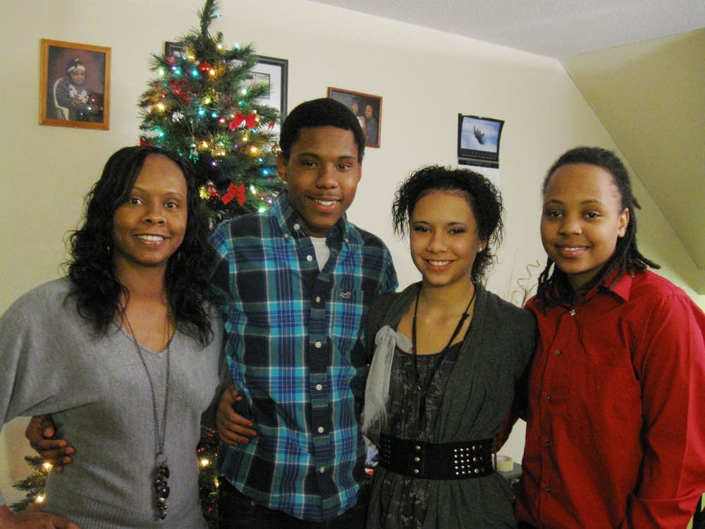 Lawanda Gildon and family
