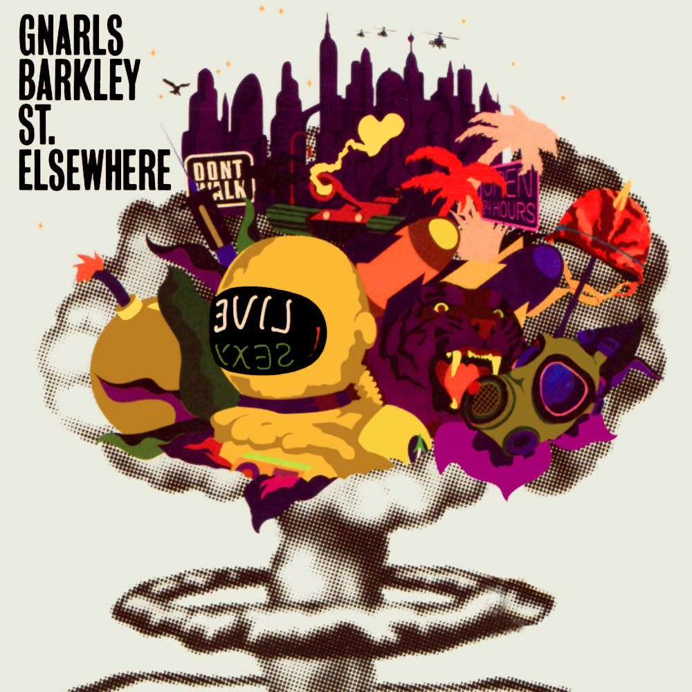 Gnarls Barkley St. Elsewhere cover art
