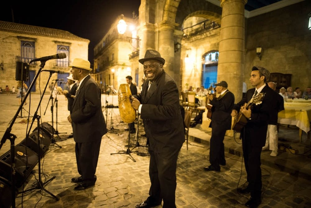 Local Cuban band Septeto Habanero