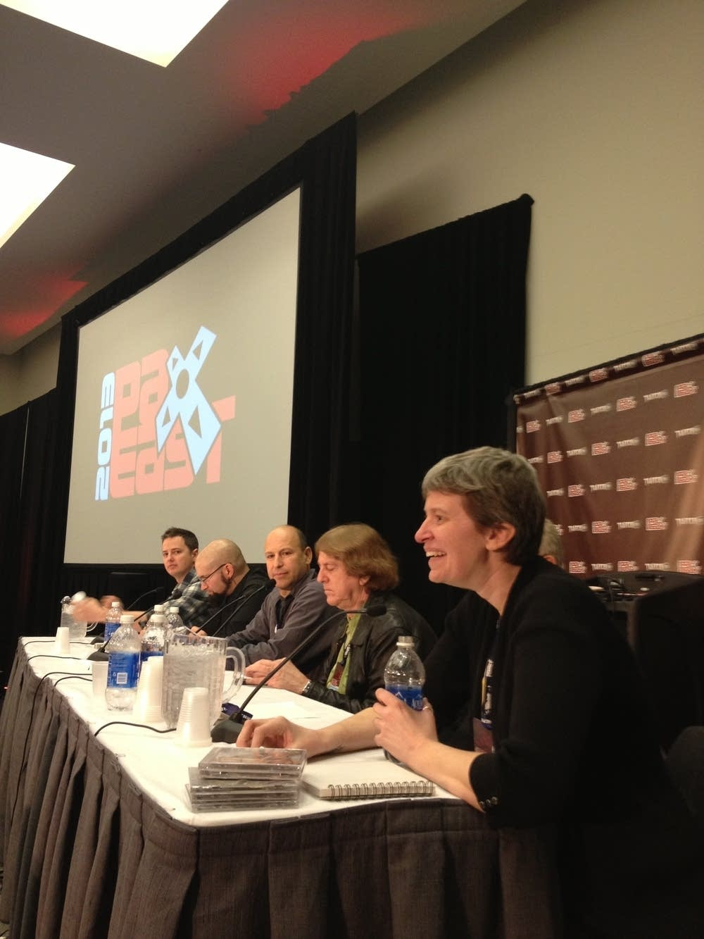 Panelists at PAX East 2013