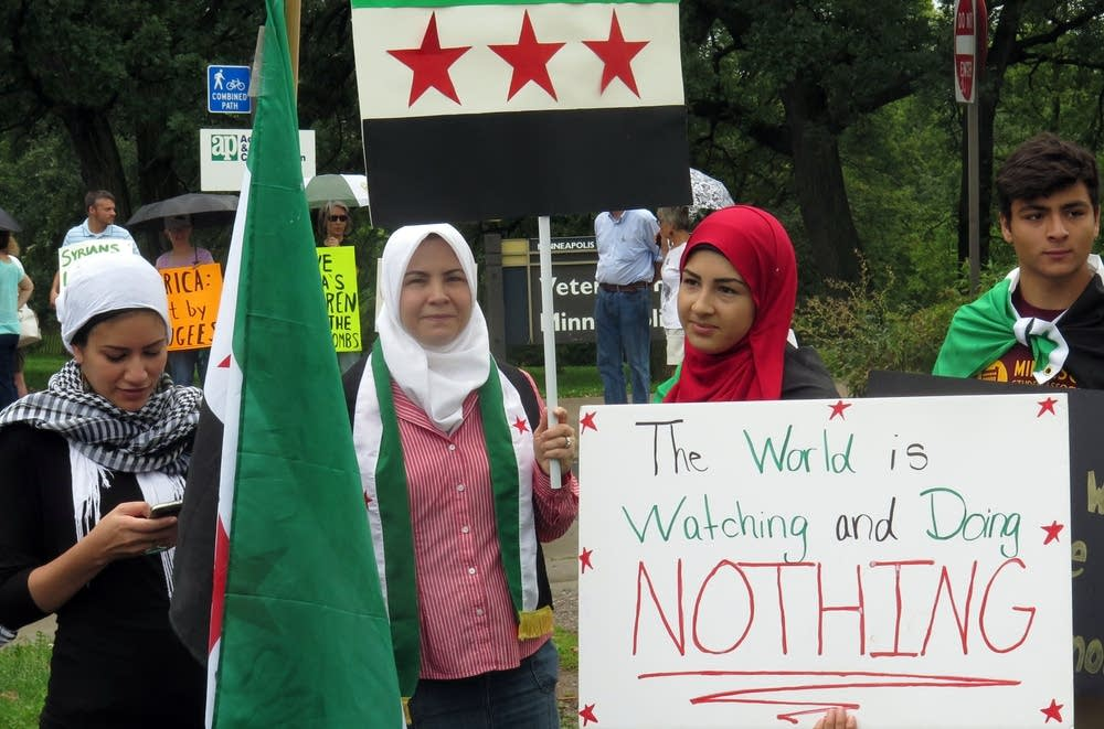 Syrian-American activists