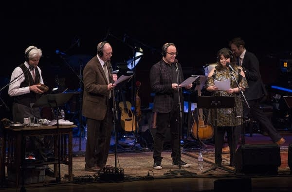 Tom Papa and Jenny Zigrino join Fred Newman and Tim Russell