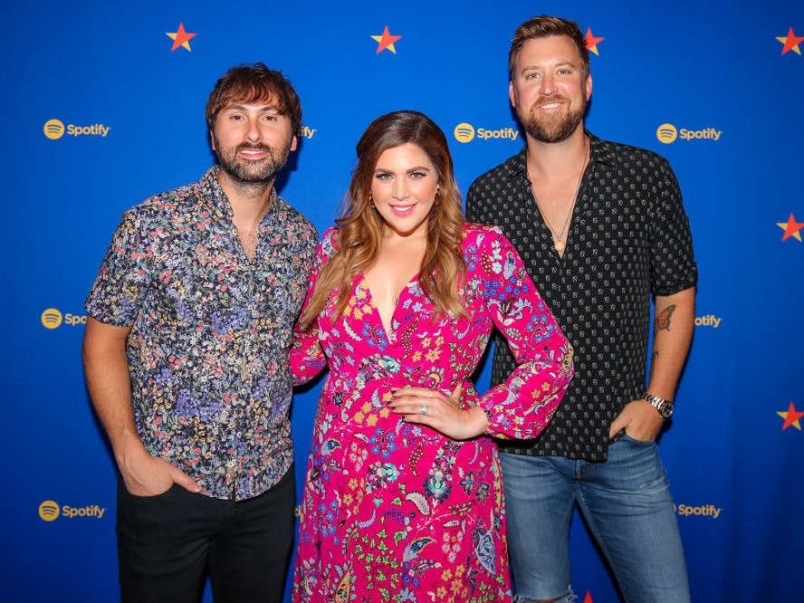 The trio formerly known as Lady Antebellum