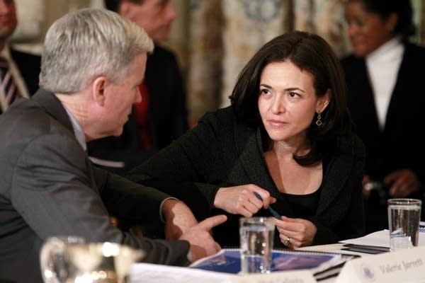 Sheryl Sandberg, Mark T. Gallogly
