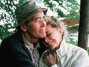 Fonda and Hepburn
