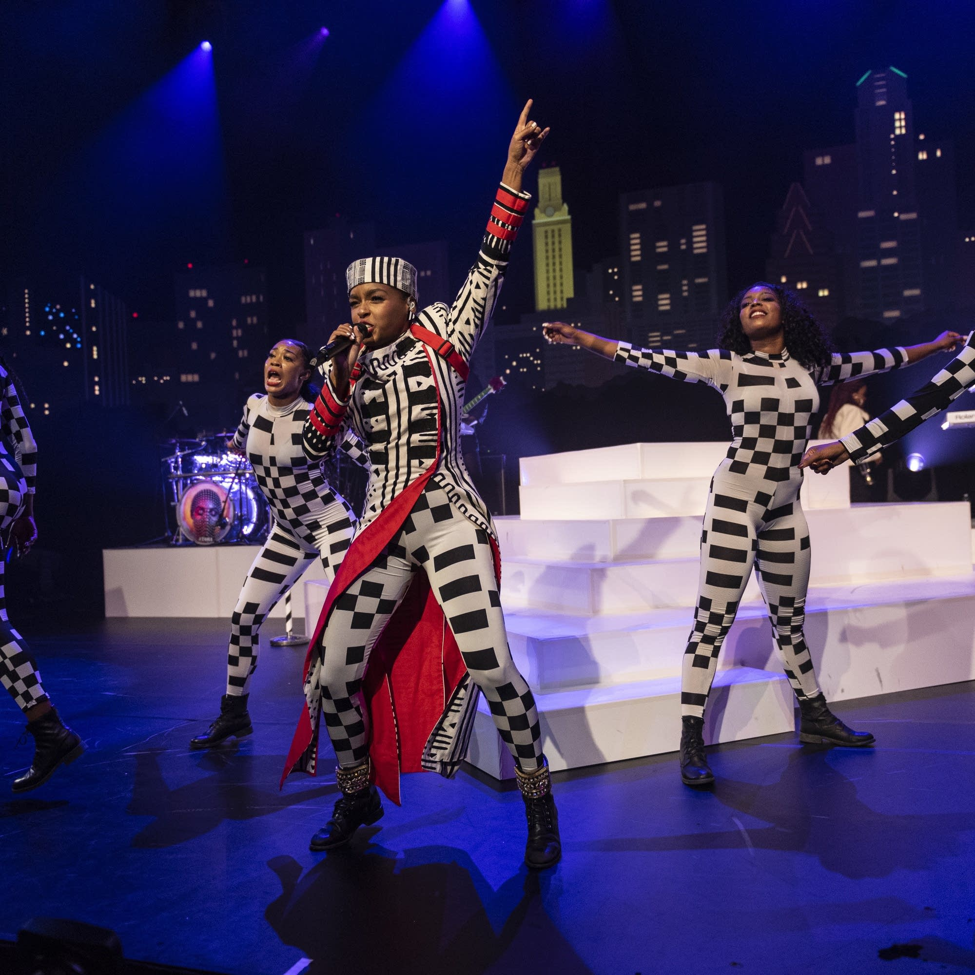 Janelle Monae performs on 'Austin City Limits'