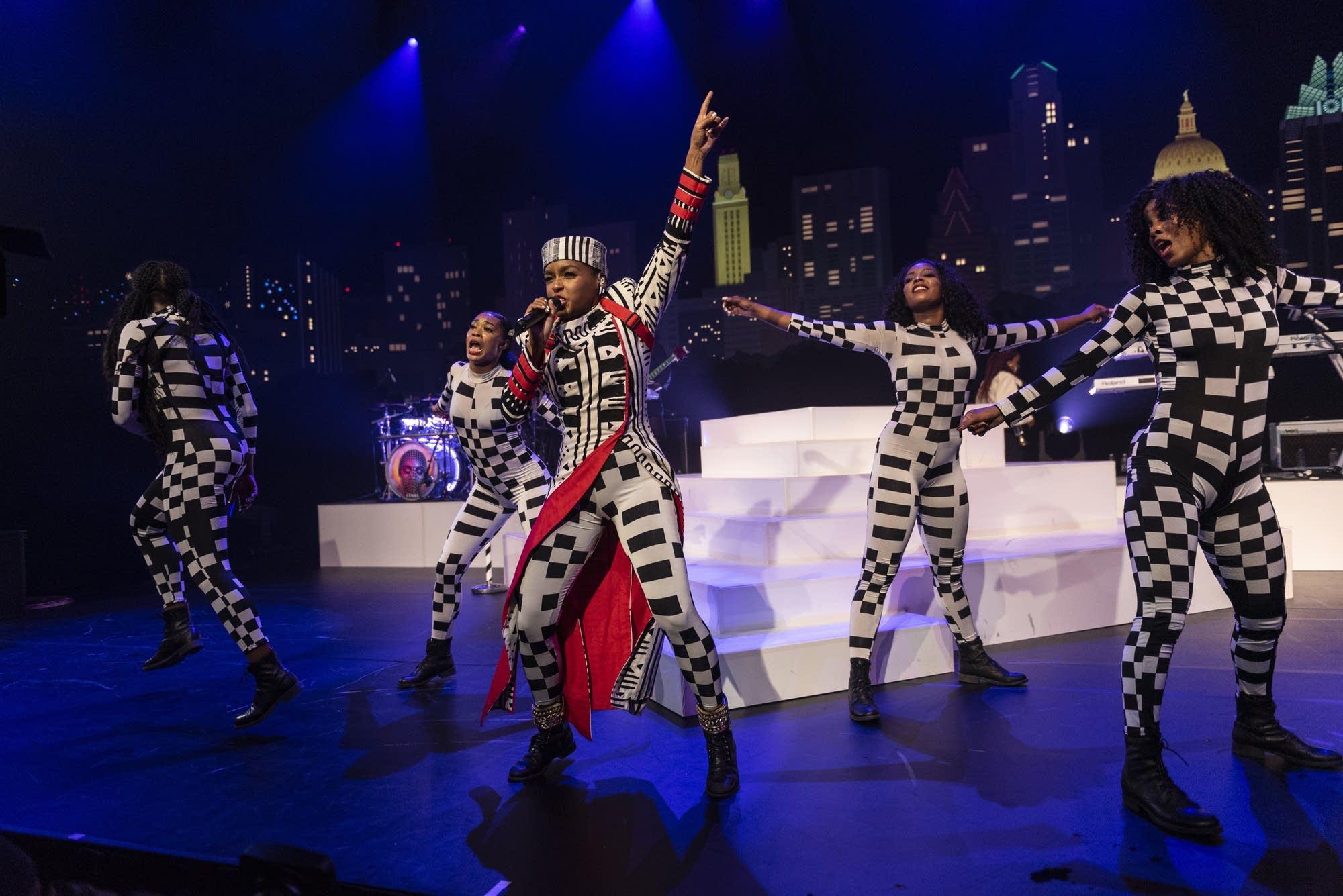 Janelle Monae performs on 'Austin City Limits'