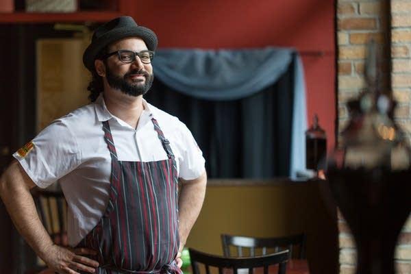 Chef and cookbook author Sameh Wadi