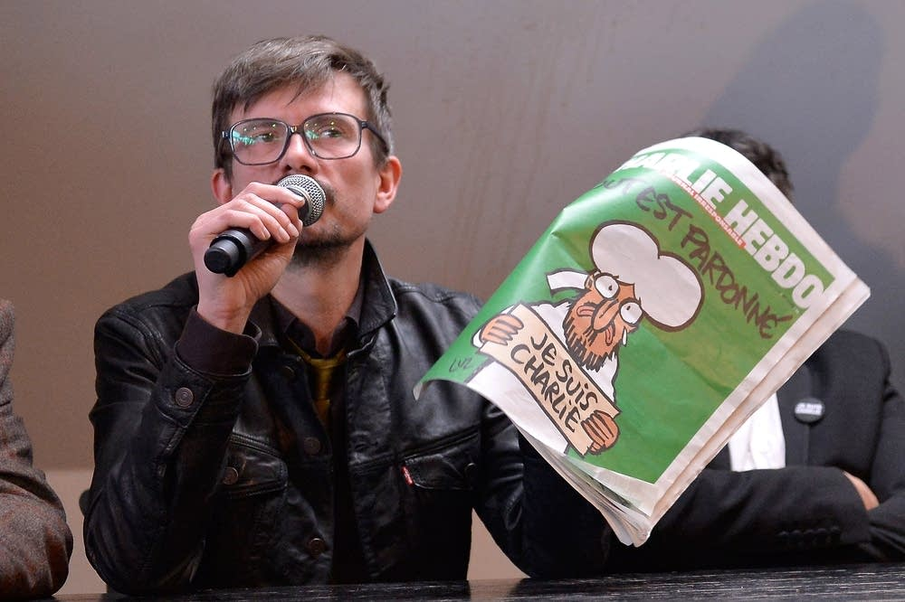 Charlie Hebdo press conference
