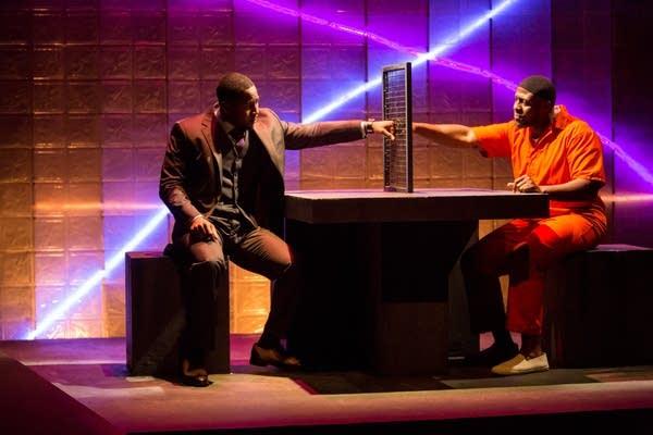Darius Dotch and Ansa Akyea play brothers.
