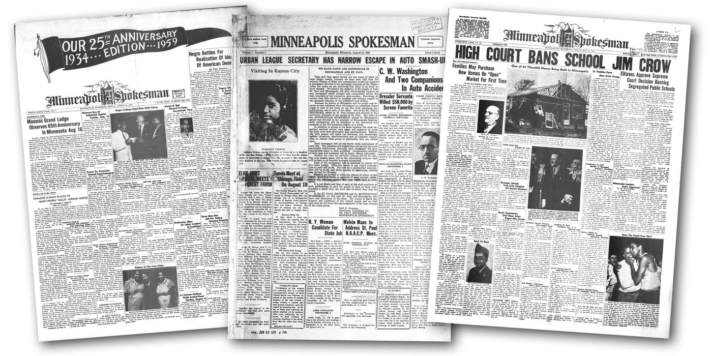 Minnesota's Oldest Black-Owned Newspaper Puts Its Archive Online