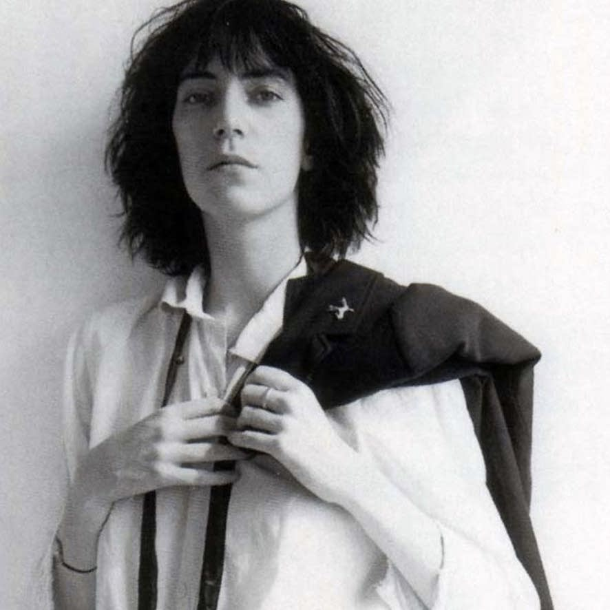 Detail from the cover of Patti Smith's 'Horses'